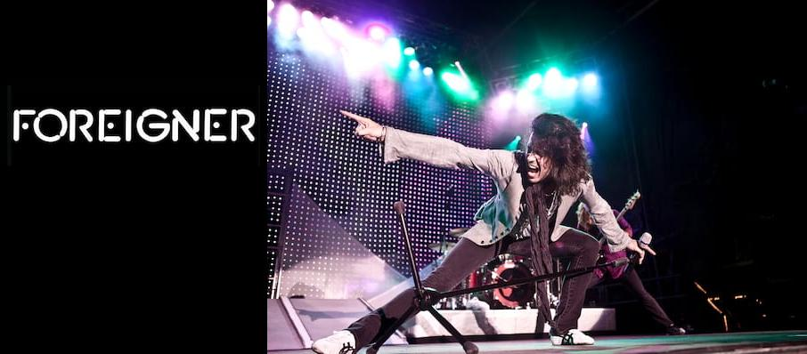Foreigner at Mary W. Sommervold Hall at Washington Pavilion