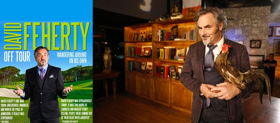 David Feherty at Mary W. Sommervold Hall at Washington Pavilion