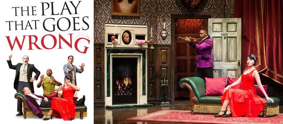 The Play That Goes Wrong at Mary W. Sommervold Hall at Washington Pavilion